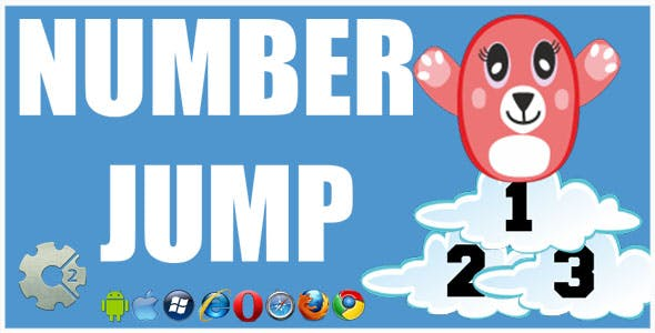 Number Jump HTML5 Game