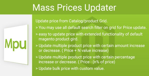 Mass prices updater - CodeCanyon Item for Sale