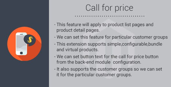 Call for price magento2