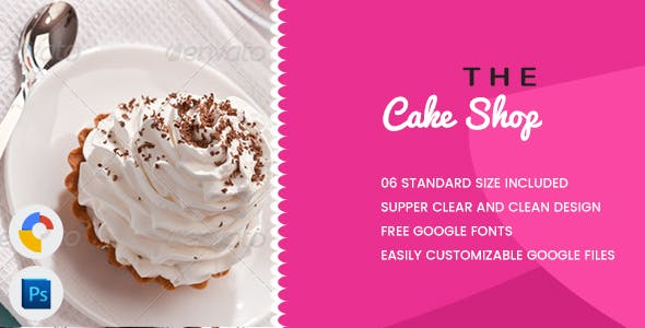 Cake Banners HTML5 - GWD