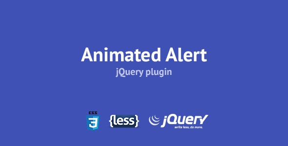 Animated alert - CodeCanyon Item for Sale