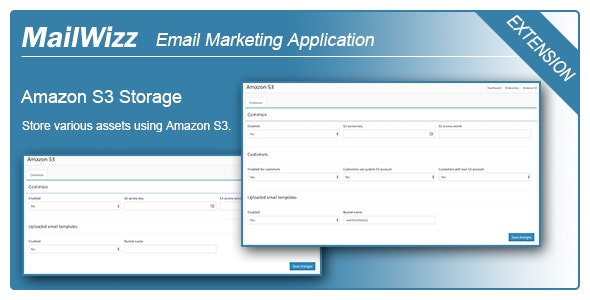 Amazon S3 integration for MailWizz EMA - CodeCanyon Item for Sale
