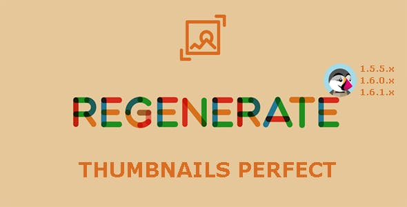 Regenerate Thumbnails Perfect - Prestashop Module
