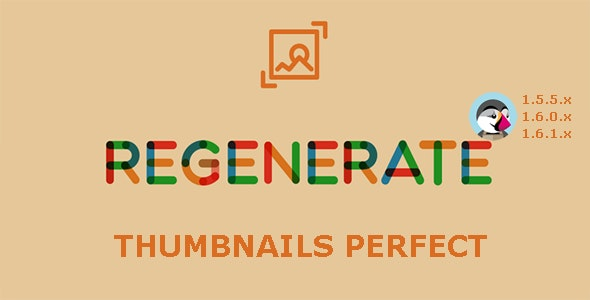 Regenerate Thumbnails Perfect - Prestashop Module - CodeCanyon Item for Sale