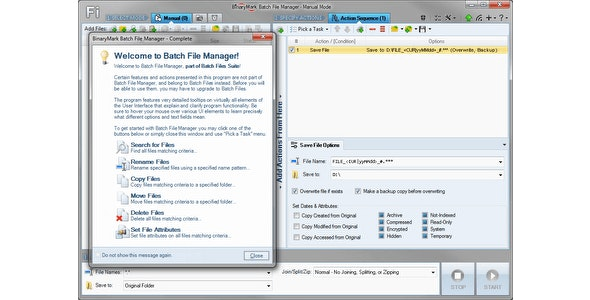 Batch File Manager - CodeCanyon Item for Sale