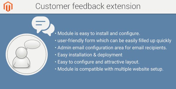 Customer feedback magento2 extension