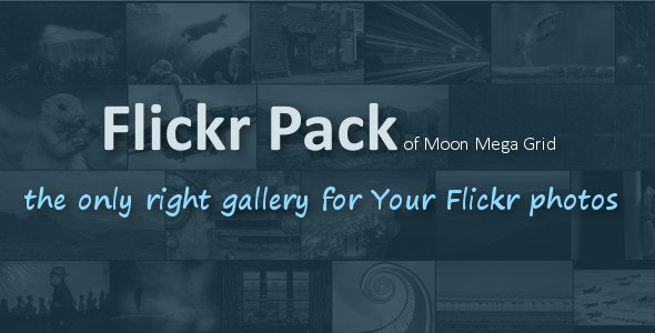 Flickr Pack - CodeCanyon Item for Sale