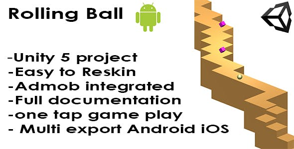 Rolling Ball - Unity5 - Android