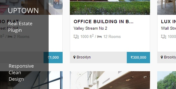 UPTOWN - Real Estate Plugin - CodeCanyon Item for Sale