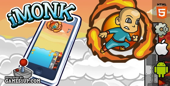 iMonk - HTML5 CAPX Construct 2 - CodeCanyon Item for Sale