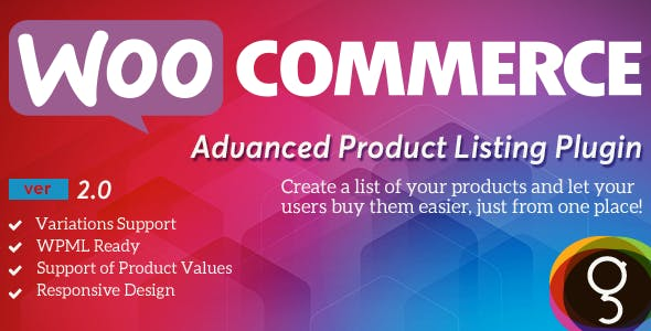 WooCommerce Product Listing        Nulled