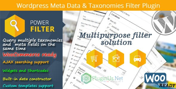 Wordpress Meta Data & Taxonomies Filter        Nulled