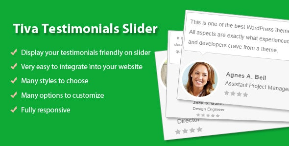 Tiva Testimonials Slider - CodeCanyon Item for Sale