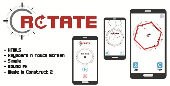 Rotate - HTML5 Game - CodeCanyon Item for Sale
