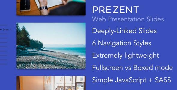 Prezent - Web Presentation Slides