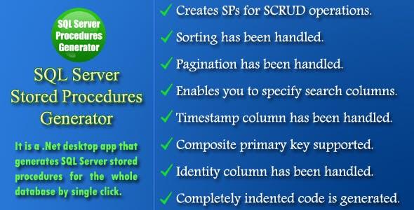 SQL Server Procedures Generator