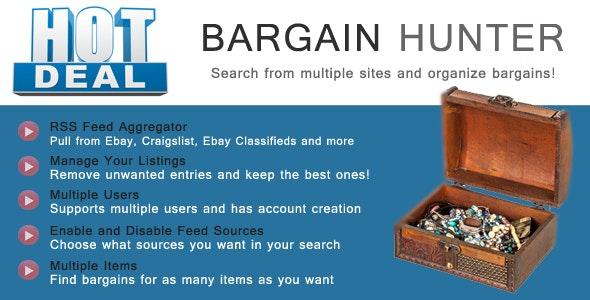Bargain Hunter - Bargain Sites RSS Aggregator - CodeCanyon Item for Sale