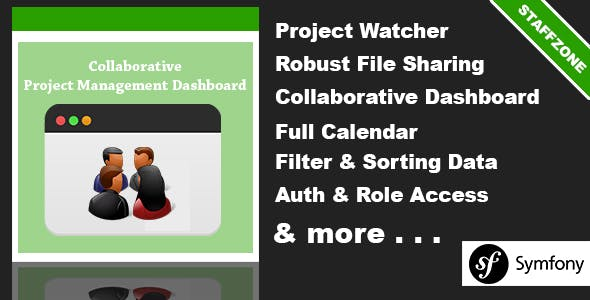 Staff Zone - Collaborative Project Management Dashboard