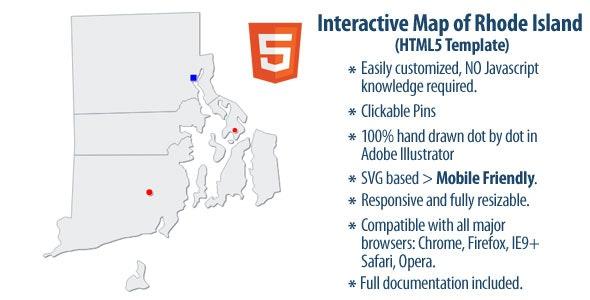 Interactive Map of Rhode Island