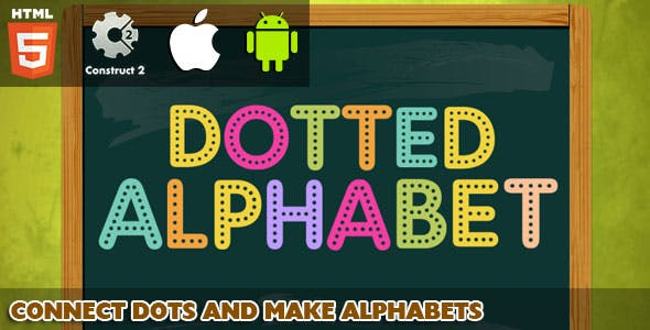 Dotted Alphabet - HTML5 Game (Capx)