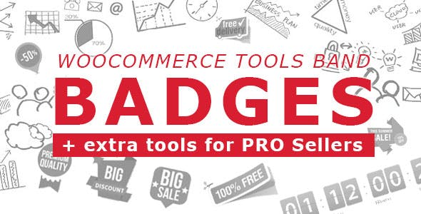 Woocommerce Tools Band: Badges + extra tools for PRO Sellers