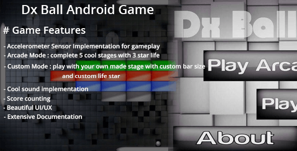 DxBall - Android Game with Admob