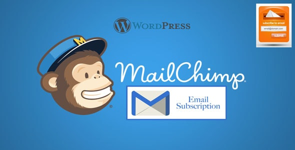 Wordpress Mailchimp Subscription Plugin - CodeCanyon Item for Sale