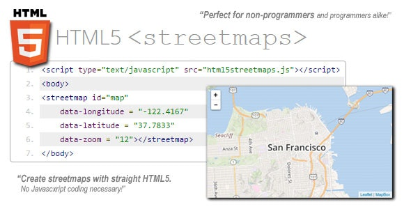 HTML5 Streetmaps v1.2 - CodeCanyon Item for Sale