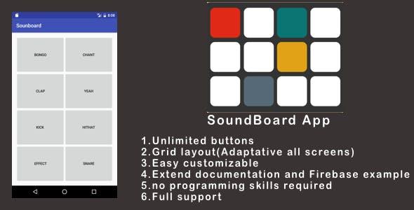 Soundboard - Music app