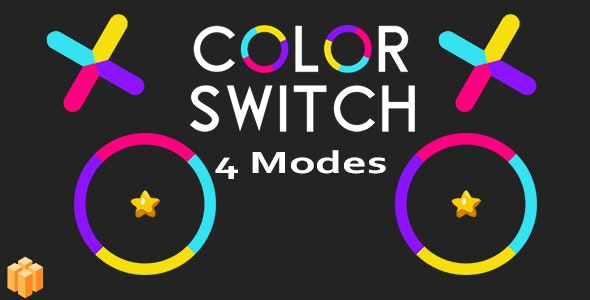 Color Switch 4 Modes - CodeCanyon Item for Sale