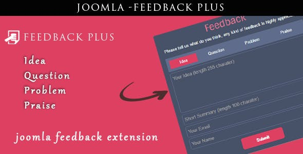 Joomla Feedback Plus