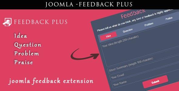 Joomla Feedback Plus