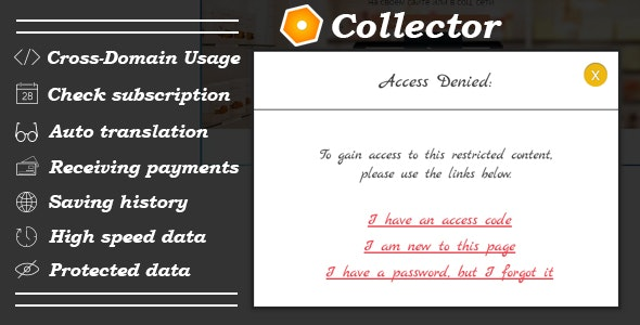 Collector Membership - CodeCanyon Item for Sale