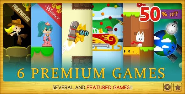 Premium Games Bundle - CodeCanyon Item for Sale