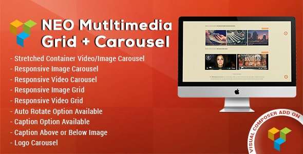 NEO Multimedia Grid & Carousel - CodeCanyon Item for Sale