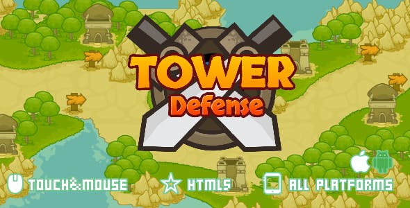 Tower Defense-html5 mobile game