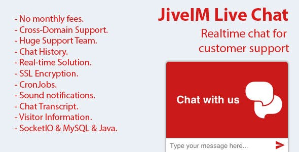JiveIM Live Chat Support