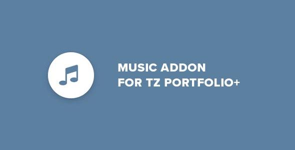 Music - Addon for TZ Portfolio+ - CodeCanyon Item for Sale