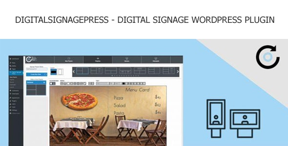 Digitalsignagepress Pro - Digital Signage Wordpress Plugin - CodeCanyon Item for Sale