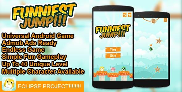 Funniest Jump!!!  - Buildbox Addictive Arcade Android Game