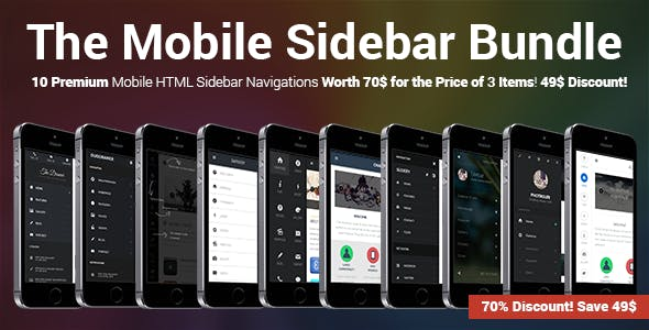 The Mobile Sidebar Bundle