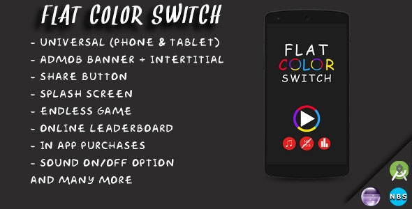 Flat Color Switch - CodeCanyon Item for Sale