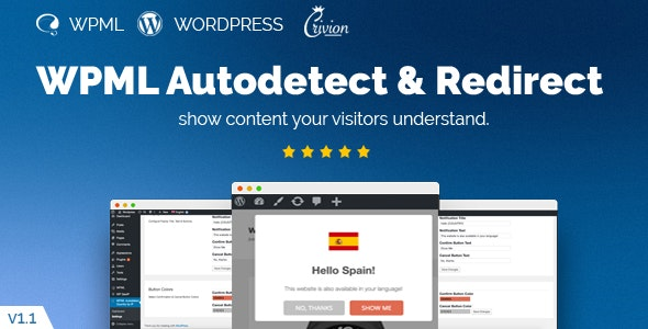 WPML Redirect Based on IP Country - CodeCanyon Item for Sale