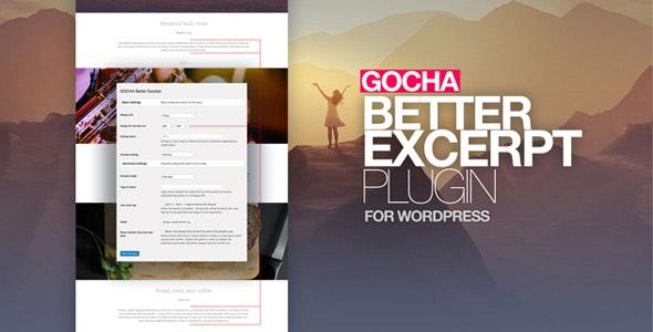 Gocha Better Excerpt - CodeCanyon Item for Sale
