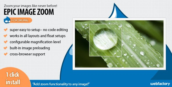 Epic Image Zoom for Drupal
