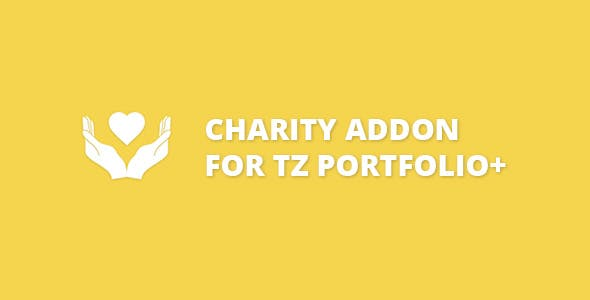 Charity addon for TZ Portfolio+