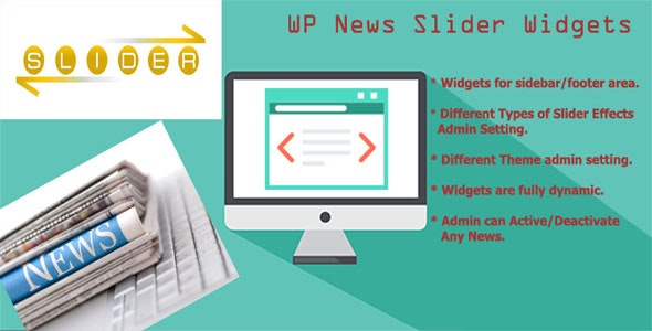 WP News Slider Widgets Pro - CodeCanyon Item for Sale
