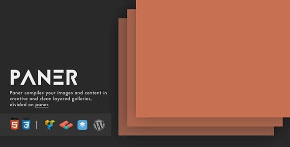Paner - Creative Layered Slider for WordPress