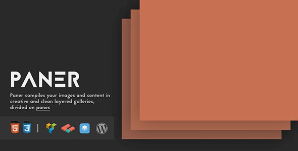 Paner - Creative Layered Slider for WordPress - CodeCanyon Item for Sale