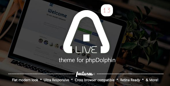 Alive Theme for phpDolphin